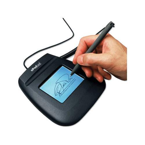 Electronic signature pads