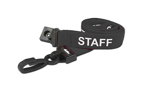 AC222-SF Staff Breakaway Lanyard with Plastic Dog Clip