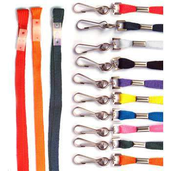 AC30017 Breakaway Lanyard with Metal Dog Clip
