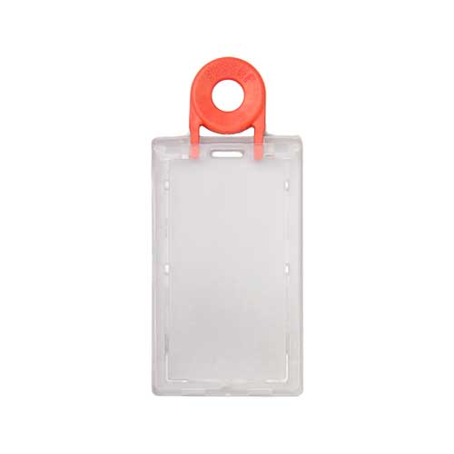 YA312-R Lockable Portrait ID Card Holder