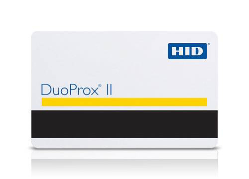 HID Technology 1336 DuoProx® II RF Programmable Proximity Card with Magnetic Stripe
